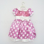 vestido minnie rosa