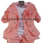 casaco infantil conjunto