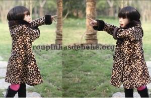 casaco oncinha feminino