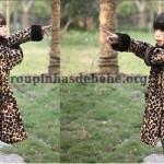 casacos infantil leopard
