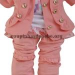 casacos infantil rosa menina