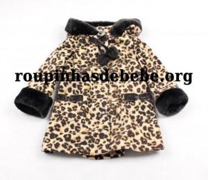 casacos infantil oncinha feminino
