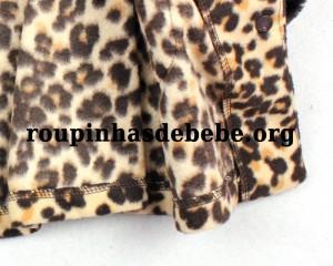 casaco infantil feminino em detalhes