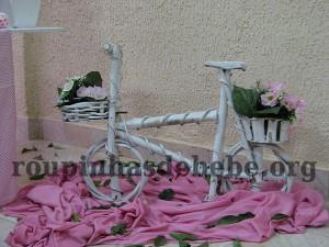 festa rosa e marrom de 1 ano provencal