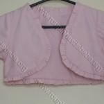 bolero infantil rosa bebe