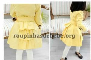 conjuntos de frio feminino amarelo