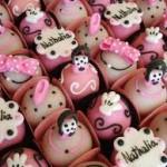 doces festa da minnie rosa