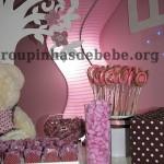 doces na festa marrom e rosa provencal