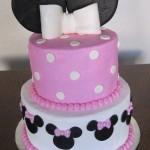 festa minnie rosa Cake