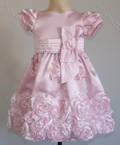 festa minnie rosa vestido infantil