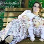 moda mae e filha bebe floral