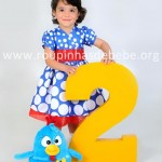 vestido infantil galinha pintadinha