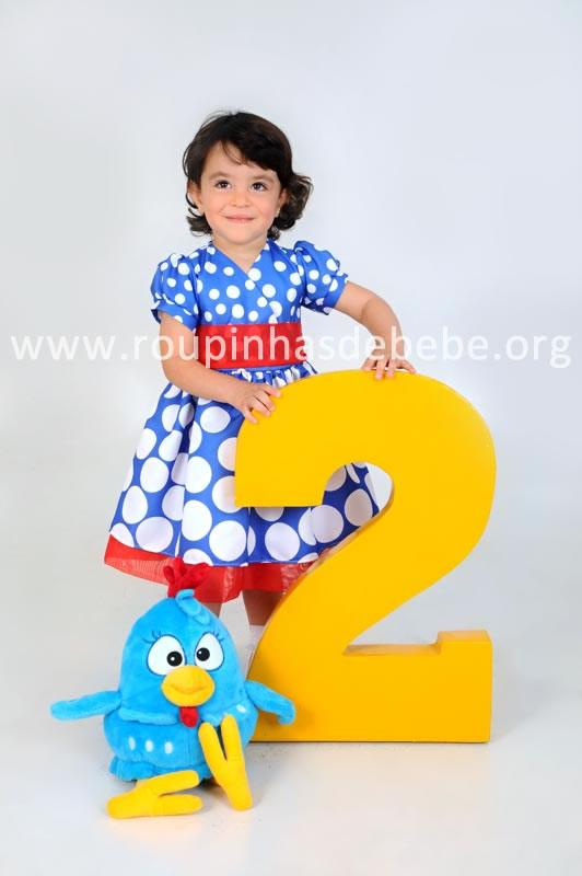 vestido infantil da galinha pintadinha para festas