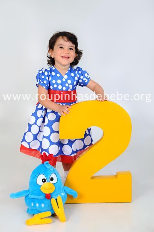 vestido da galinha pintadinha para meninas