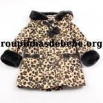 moda infantil inverno leopard