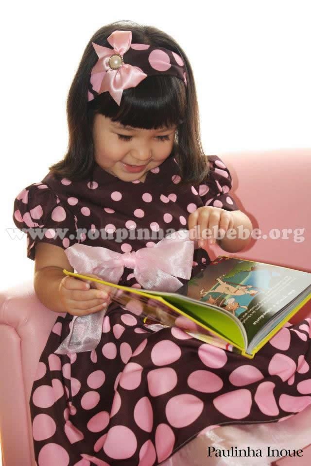vestido bonnie jean marrom e rosa