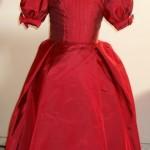 vestido de bebe vermelho princesa infantil