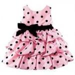 vestido rosa bebe importado
