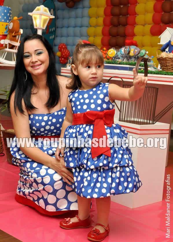 vestido mae e filha da galinha pintadinha