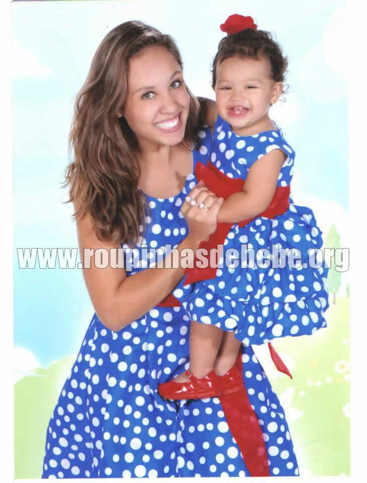 vestido mae e filha galinha pintadinha para festa
