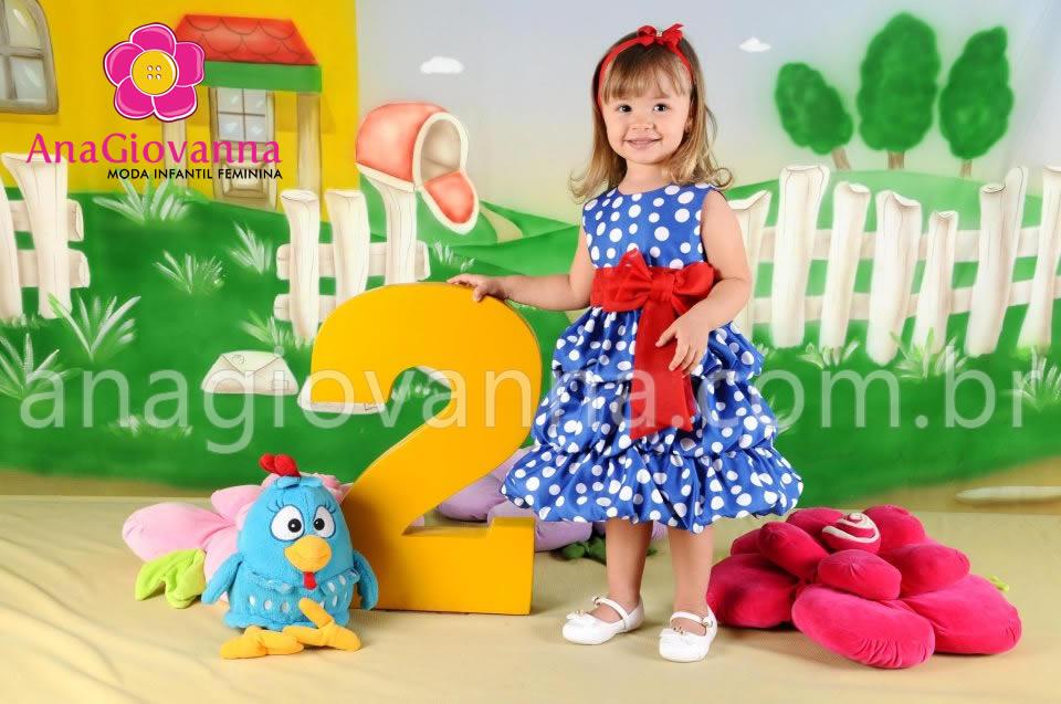vestido da galinha pintadinha infantil para festa