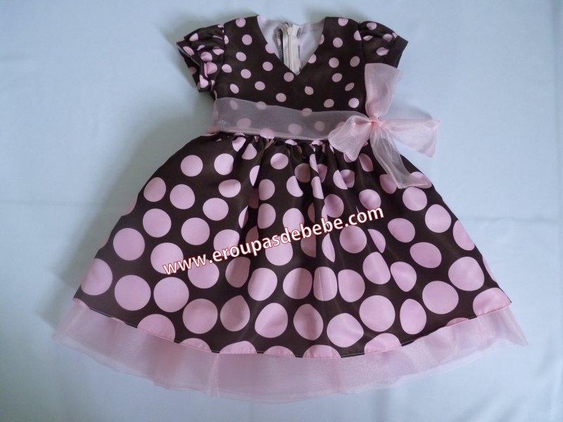 vestido-infantil-marrom-e-rosa