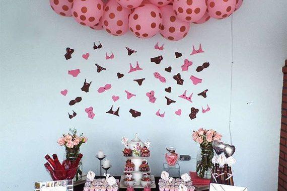 Festa marrom e rosa para meninas de 1 aninho