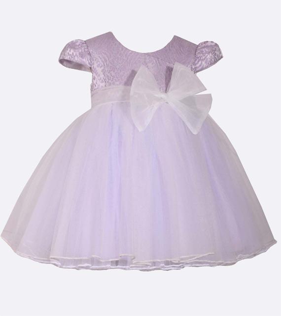 Vestido de festa para bebê de 1 ano