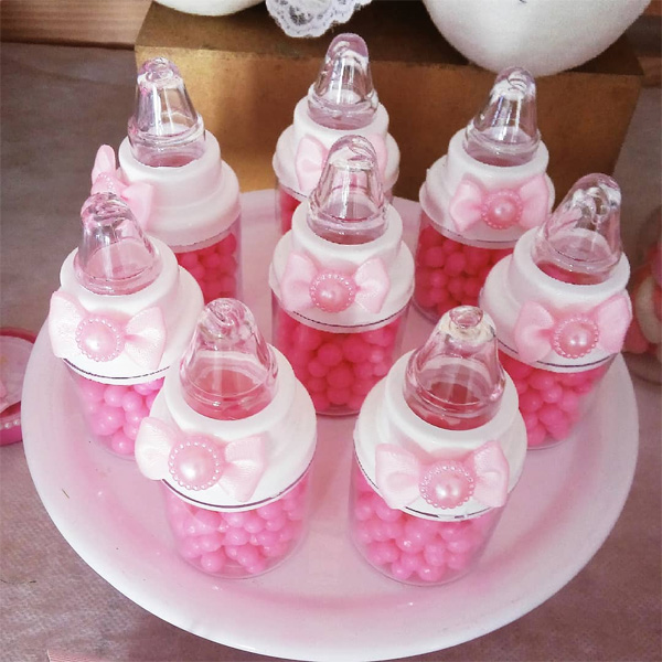ideias para chá de bebê simples