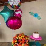 Decoração simples de aniversário