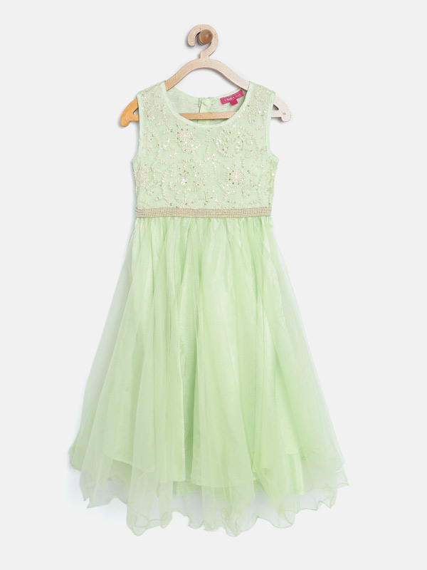 Vestido longo infantil para formatura