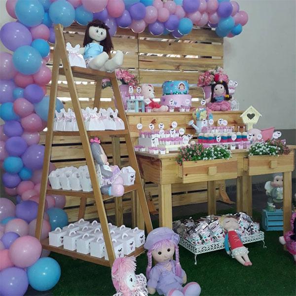 Tema de festa de 1 ano menina