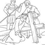 A cruz pesada de Jesus
