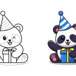 Panda no aniversário