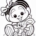 Bebê Mônica com Sansão