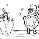 Bita escova os dentes