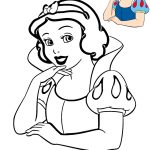 Desenho para colorir de princesas