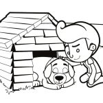 Casa do Doguinho para imprimir
