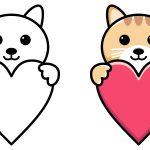 Coração de gato