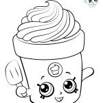 Delícia de sorvete para pintar