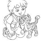 Diego e o bebê onça