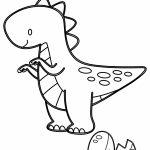 Dinossauro saindo do ovo