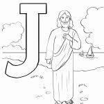 Jesus Cristo para pintar e colorir