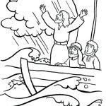 Jesus acalma a tempestade no mar
