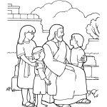 Jesus com as crianças