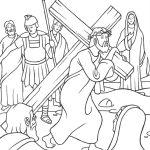 Jesus levando a cruz