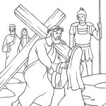 Jesus levando sua cruz