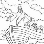 Jesus no barco