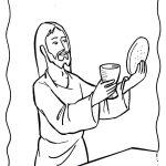 Jesus pão e vinho