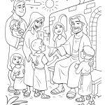 Jesus recebe as crianças